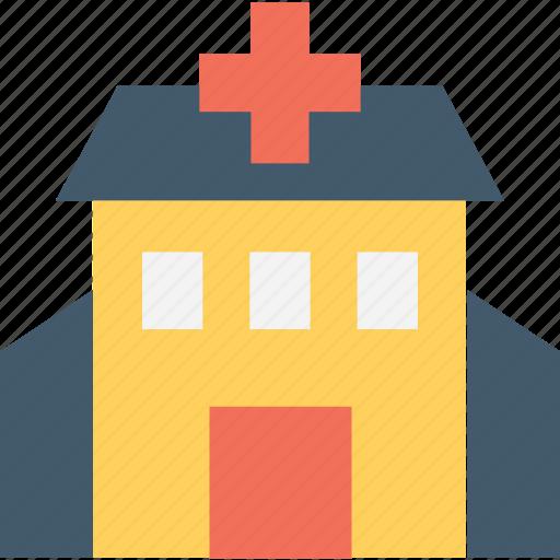 clinic, hospital, medical institute, nursing home, sanatorium icon