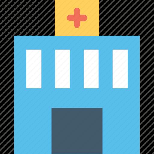 clinic, hospital, infirmary, nursing home, sanatorium icon