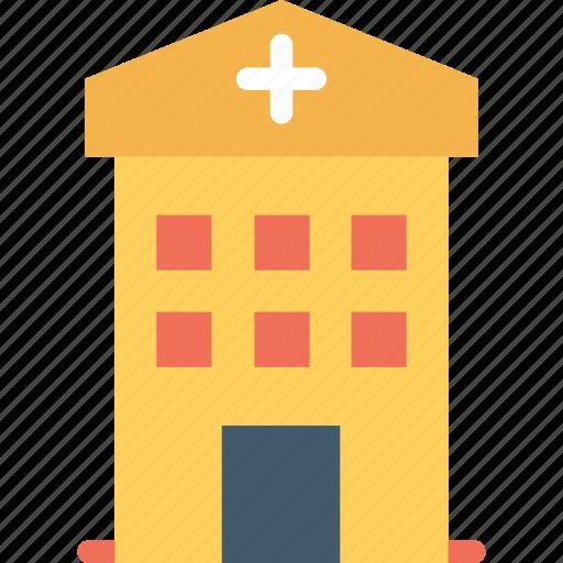 clinic, health center, hospital, infirmary, sanatorium icon