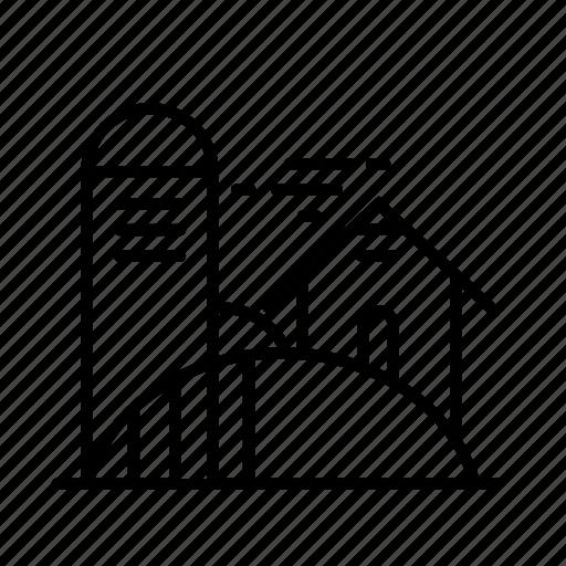 Barn, farm, village icon - Download on Iconfinder
