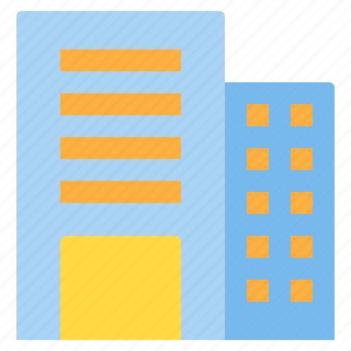 building, city, hotel, office, real estate icon