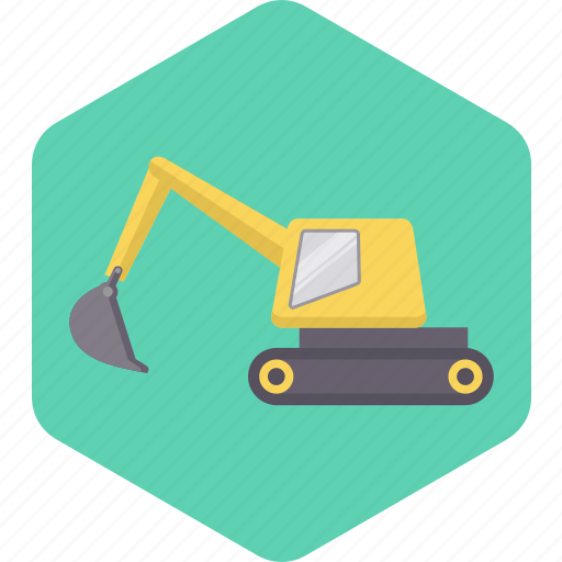 Building, construction, tool, work, transport, vehicle, crane icon - Download on Iconfinder