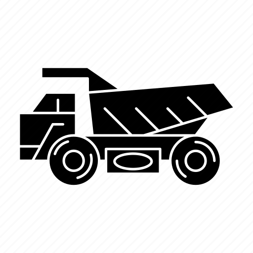 Construction, trailer, transport, truck icon - Download on Iconfinder