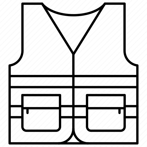 construction, repair, vest icon