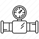 building, construction, pipe, repair icon