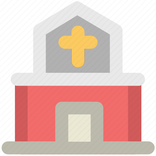 chapel, church, religious building, shrine, tabernacle icon