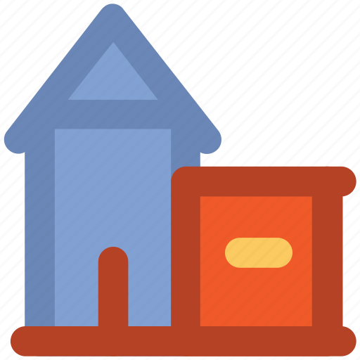 family house, home, house, luxury house icon