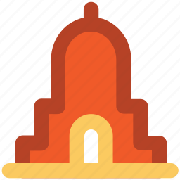 building, landmark, library, monument, museum icon