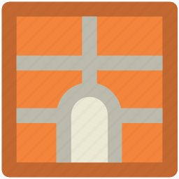 ancient gate, gateway, landmark, memorial, monument icon