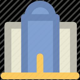 building, landmark, library, monument, museum icon