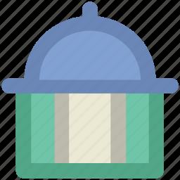 ballroom, building, dome roof, real estate, rotunda icon