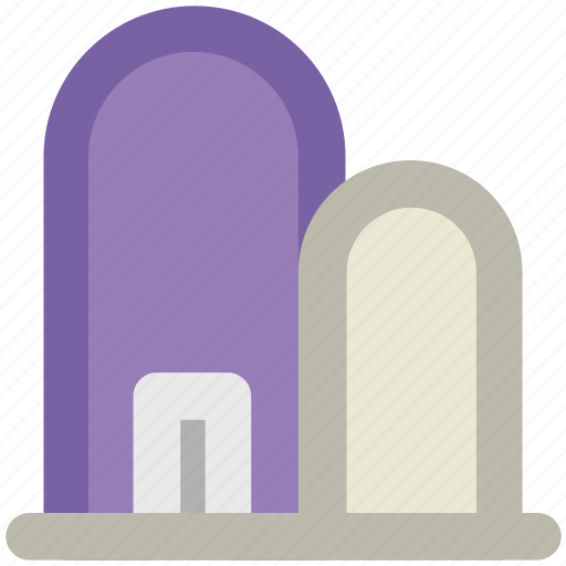 burial ground, burial site, burying ground, cemetery, churchyard, god's acre, graveyard, tombstone icon