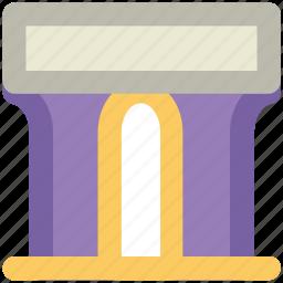 archway, doorway, entrance, entry, portal icon