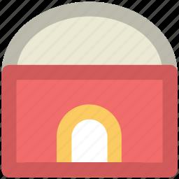 barn, building, farmhouse, storehouse, warehouse icon