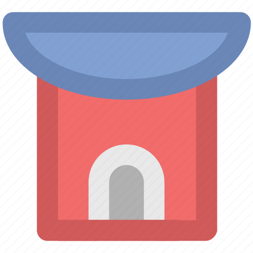 bungalow, country house, farmhouse, lodge, rural house icon