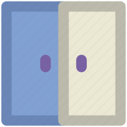 door, doorway, front door, gateway, house entrance icon