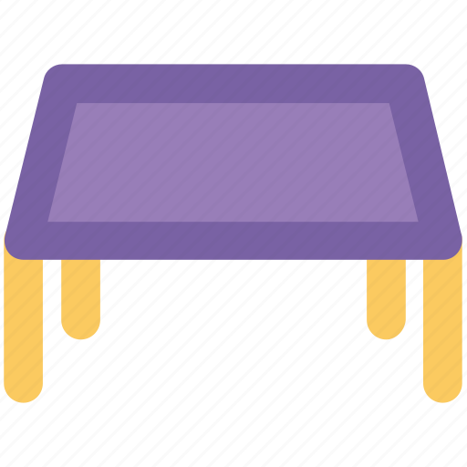 dining table, furniture, kids room table, square table, table icon