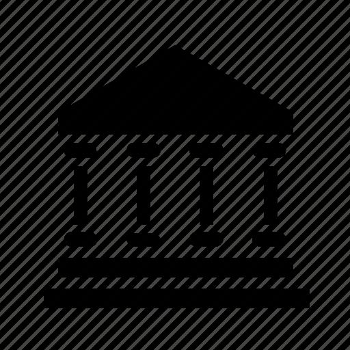 building, estate, government, home icon