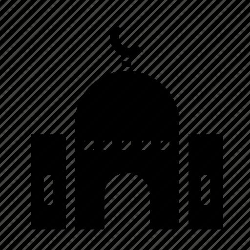 building, estate, mosque, property icon