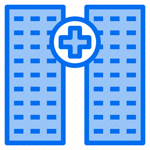 bank, building, factory, hospital, office, restaurant, school icon