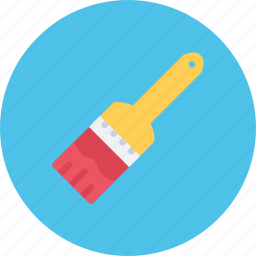 brush, build, builder, building, repair, tool icon