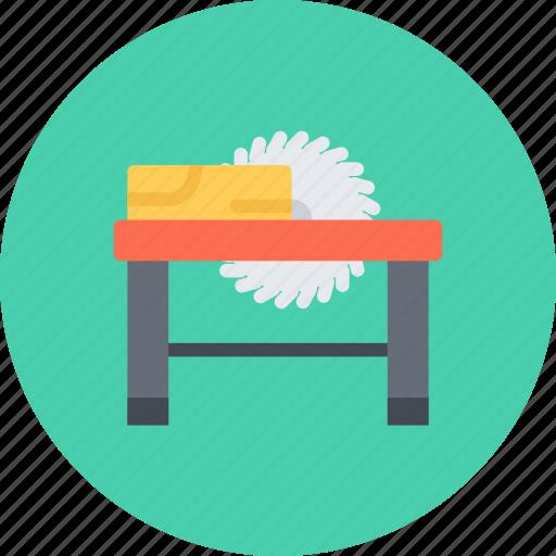 build, builder, building, circular, repair, saw, tool icon