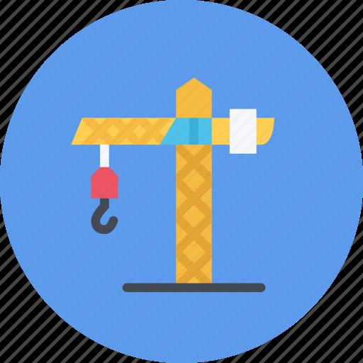 build, builder, building, crane, repair, tool icon