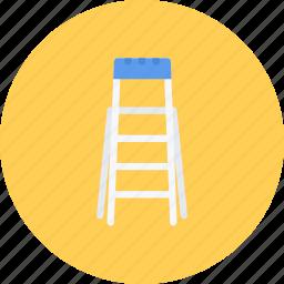 build, builder, building, ladder, repair, tool icon