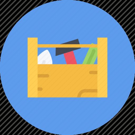 build, builder, building, repair, tool, toolbox icon