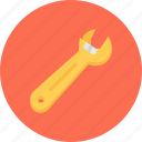 build, builder, building, repair, tool, wrench icon