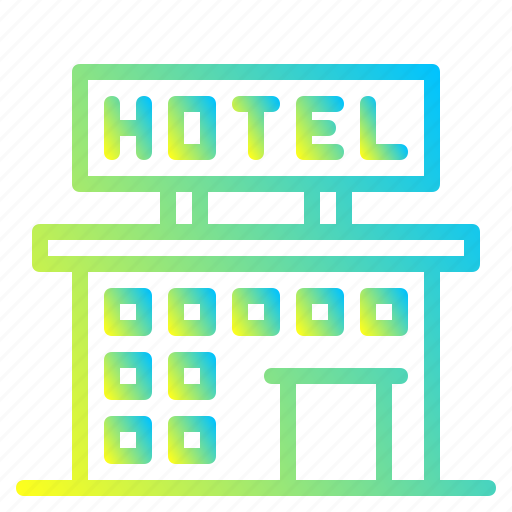 architecture, building, city, hotel, office icon