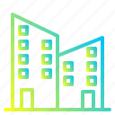 architecture, building, city, officev icon