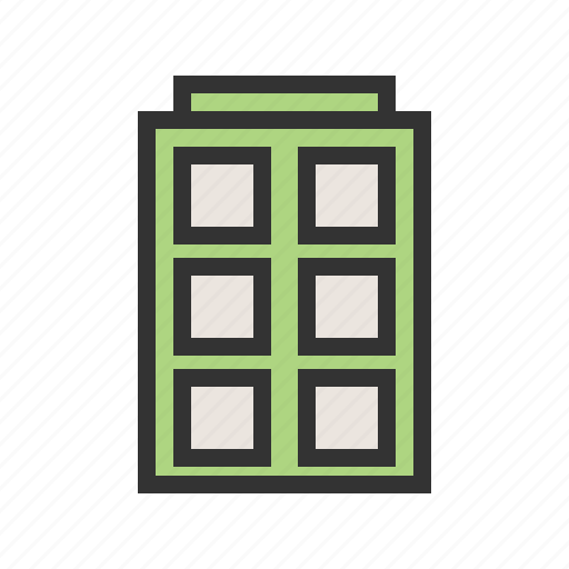 architecture, building, buildings, business, construction, hospital, office icon