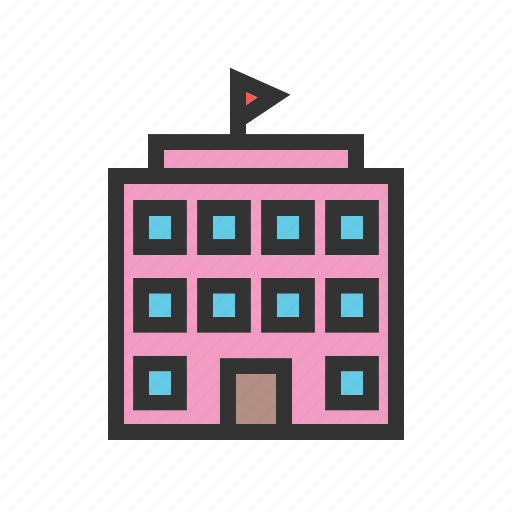 Building, education, elementary, kid, kids, school, student icon - Download on Iconfinder