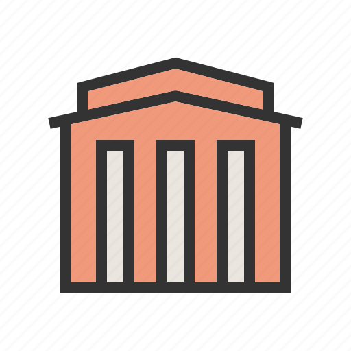 Bank, banking, building, business, finance, money, office icon - Download on Iconfinder