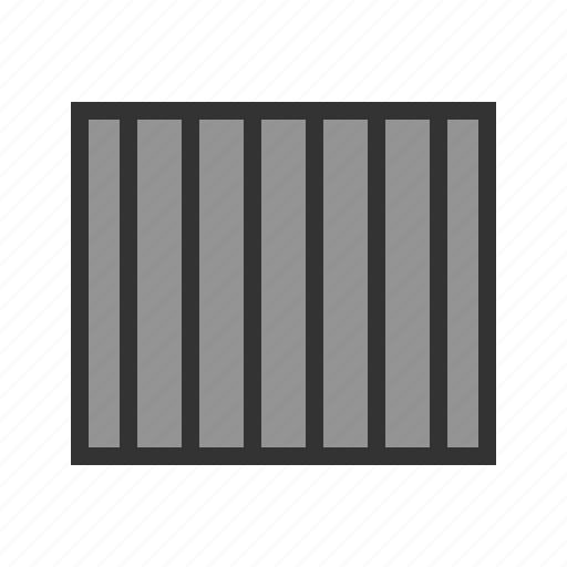 Bar, bars, cell, crime, jail, prison, shadows icon - Download on Iconfinder