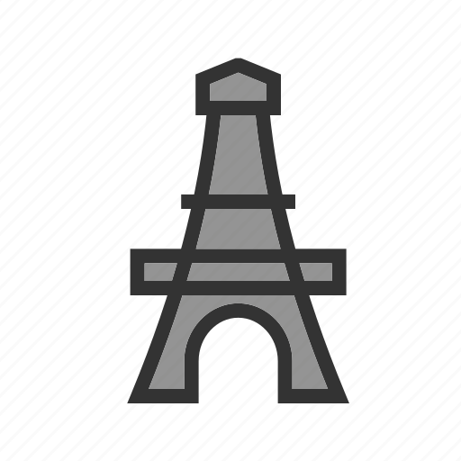 eifel, eiffel, france, monument, paris, tower, travel icon