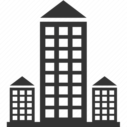architecture, building, home, house, office icon