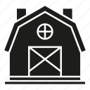 building, dwelling, farmhouse, residence icon