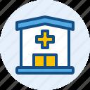 building, hospital, landmark