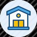 building, house, landmark icon