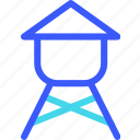 25px, iconspace, reservoirs, water icon