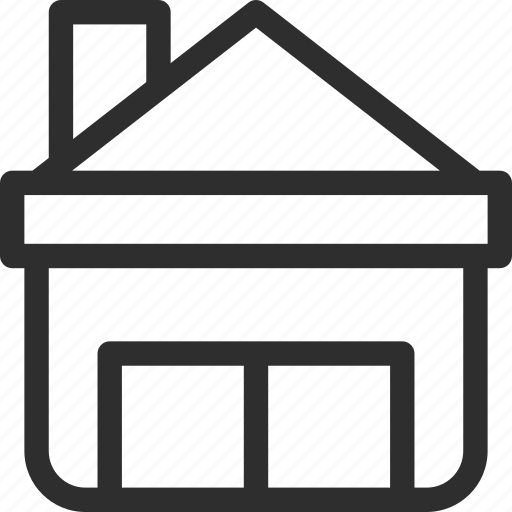 25px, cottage, family house, house, iconspace, property, villa icon