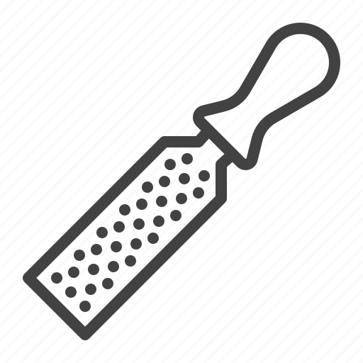 building, carpenter, file, rasp, tool icon