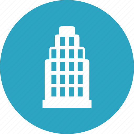 building, city, hotel, office icon