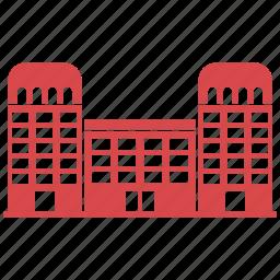 architecture, building, buildings, castle icon