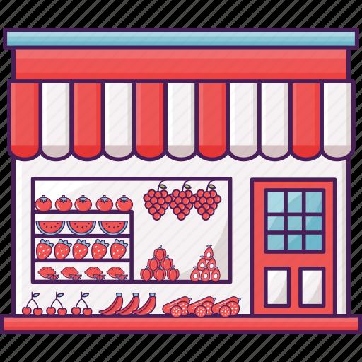 fruit, market, shop, vegetable icon