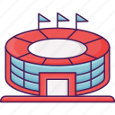 game, sport, stadium icon