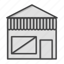 building, buy, eccommerce, estate, house, real, shop icon
