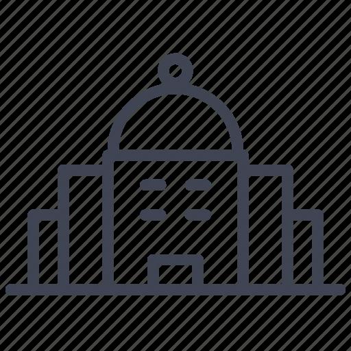 architecture, building, dome, estate, real icon